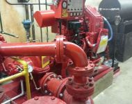 DIESEL DRIVEN PUMP REPLACEMENT 9
