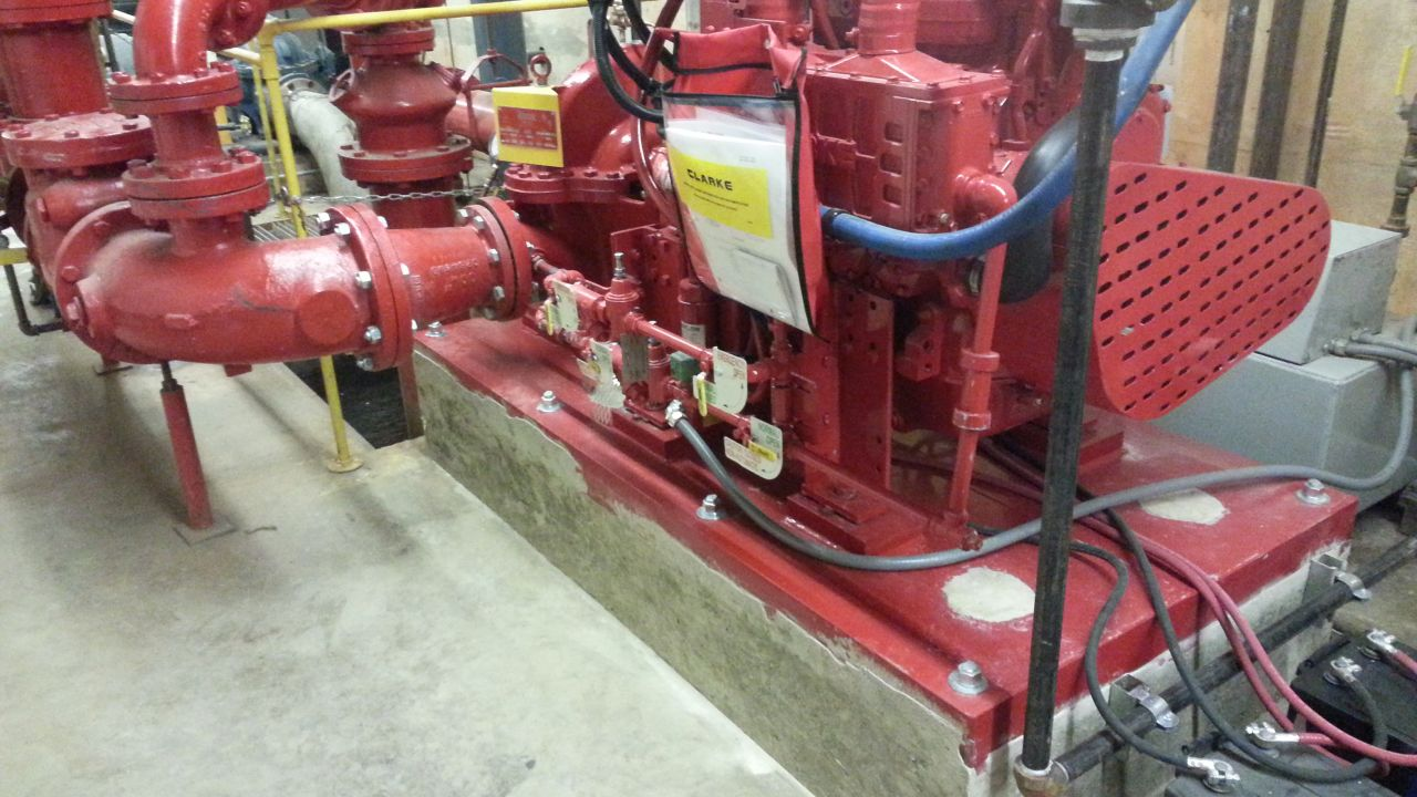 DIESEL DRIVEN PUMP REPLACEMENT 7